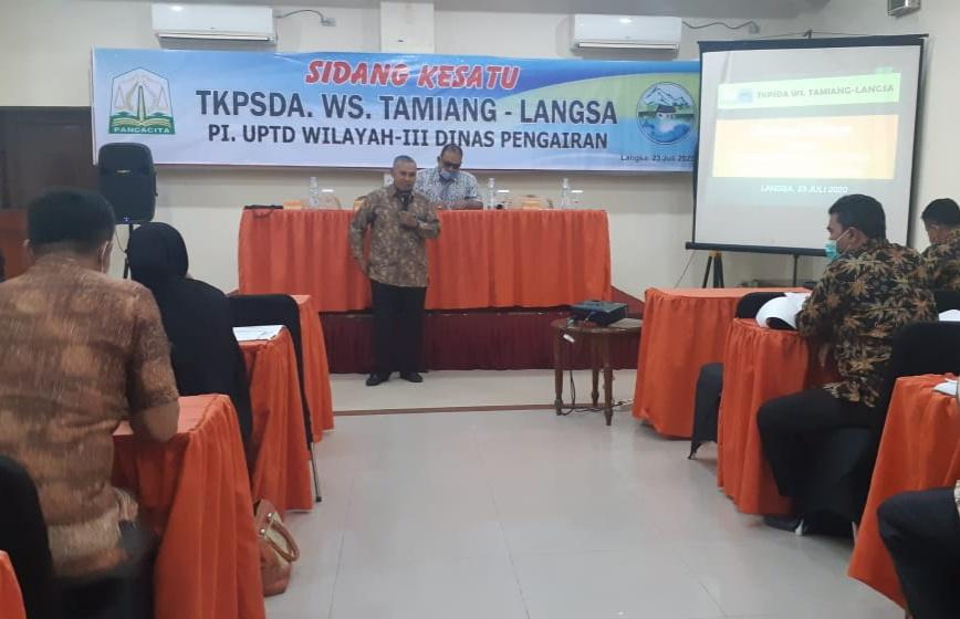 TKPSDA WS Tamiang – Langsa Gelar Sidang Pertama, POKJA Siap di Bentuk