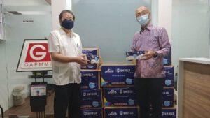 Aice Mulai Distribusikan Jutaan Masker Medis Shield dalam Skema Aksi Kemanusiaan Covid-19