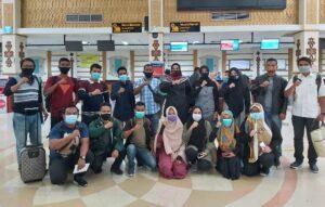 Panwaslih Aceh Berangkatkan 9 Peserta SKPP Daring Untuk Belajar Pemilu di Bogor