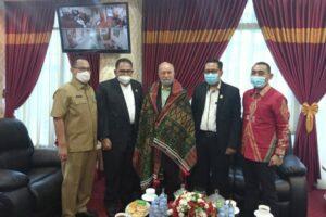 Wali Nanggroe Berkunjung ke Aceh Tamiang dan Sumut, Bahas Tapal Batas