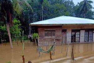 Tahun Baru, Delapan Kecamatan Di Aceh Timur Disambut Banjir